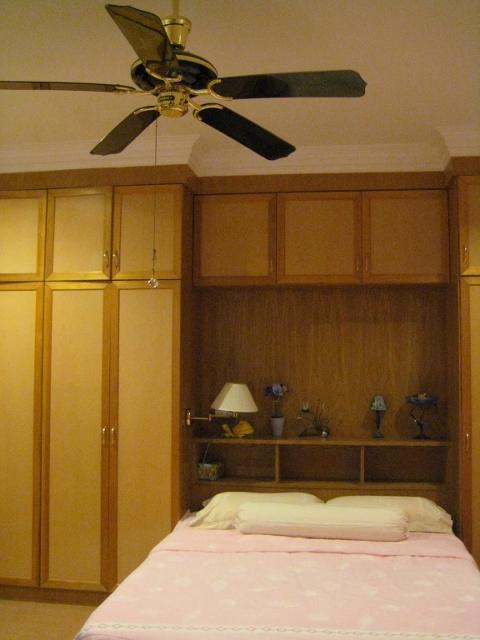 ブルネイで宿泊した豪邸のベッドルーム