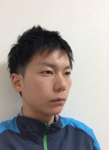 1000円カット後の髪型