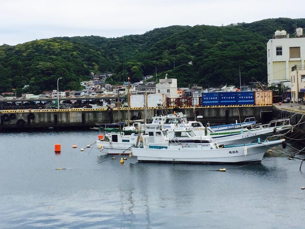 静岡県伊東市の港