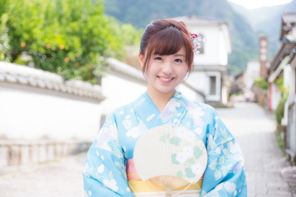 京都弁のお嬢様イメージ