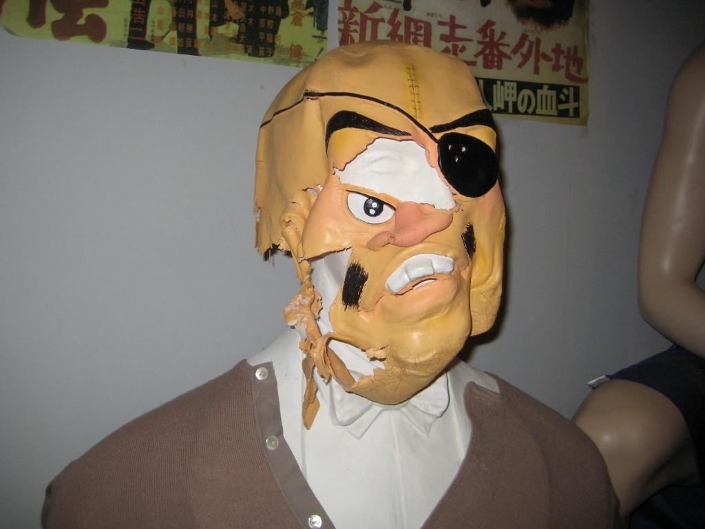 まぼろし博覧会の人形のアップ
