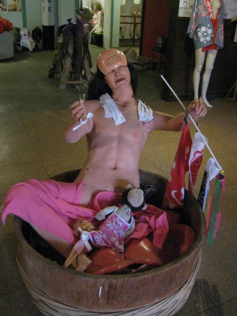 まぼろし博覧会の人形