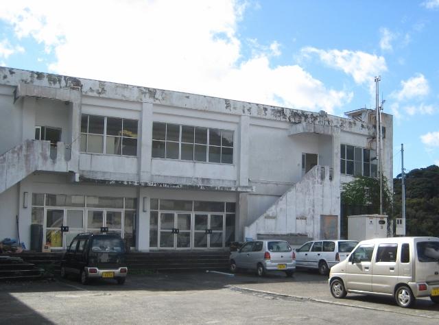 ヒッチハイクのとき宿泊した建物