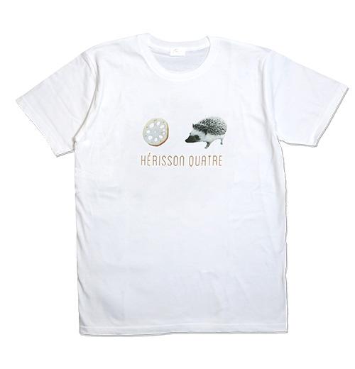 エリソンキャトルのハリネズミTシャツ