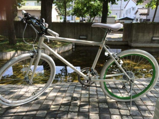 自転車通販21テクノロジーで購入した激安クロスバイク