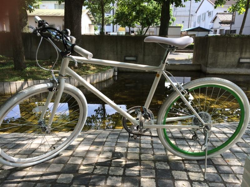 自転車通販サイトで購入した激安クロスバイク