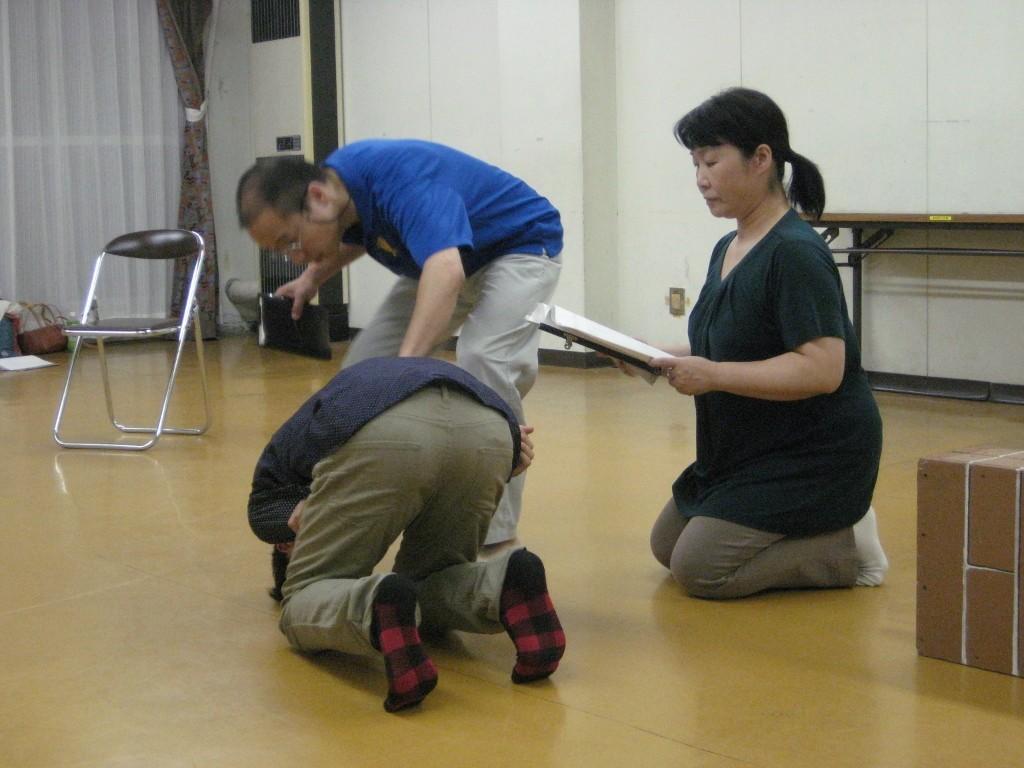 劇団豊橋演劇塾の稽古の様子