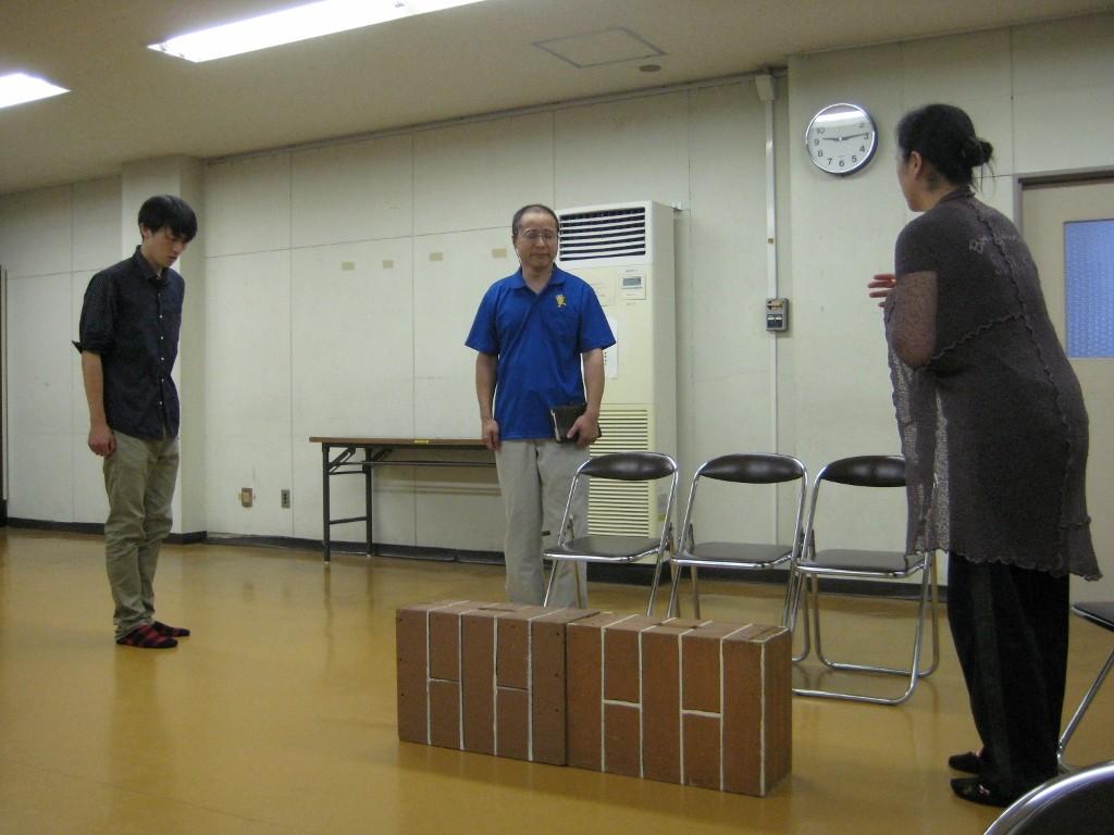 劇団豊橋演劇塾の稽古風景