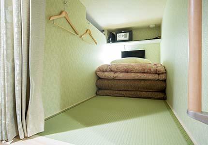 名古屋駅前の格安宿ゲストハウスわさびの室内