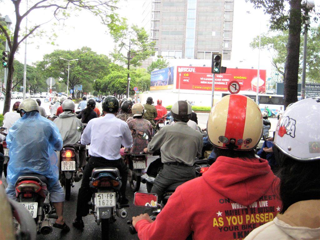 ベトナム・ホーチミンのバイク天国