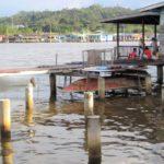 ブルネイの水上集落『カンポン・アイール』の様子