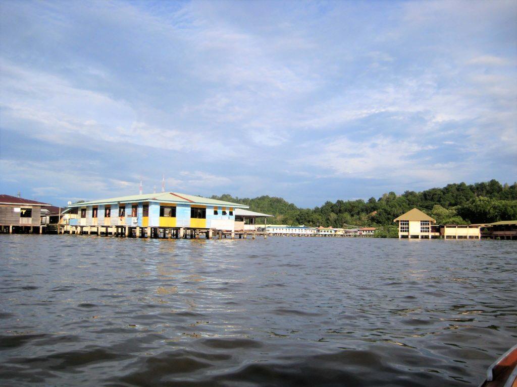 ブルネイ・ダルサラーム国の水上集落