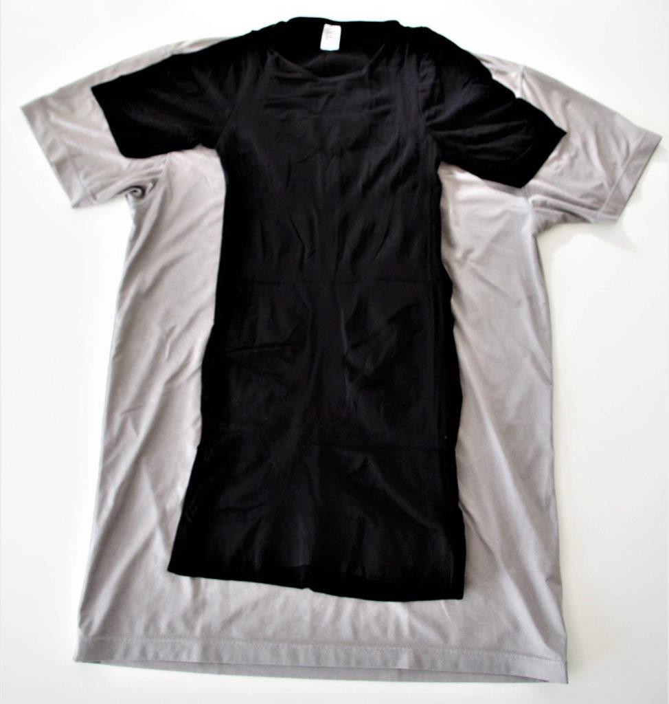 メンズ加圧シャツ コアプレッシャーのサイズ